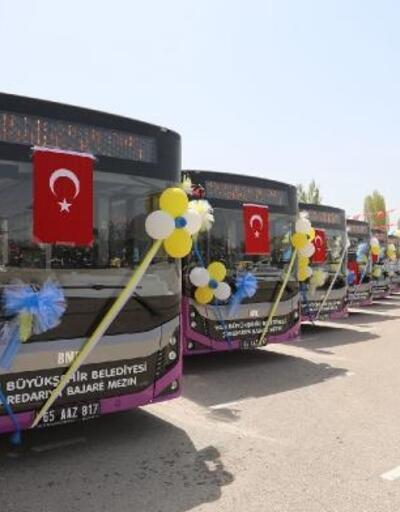 Van Büyükşehir Belediyesi'ne 54 milyon liralık yeni araç