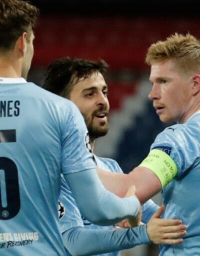 Manchester City yenilgiden döndü