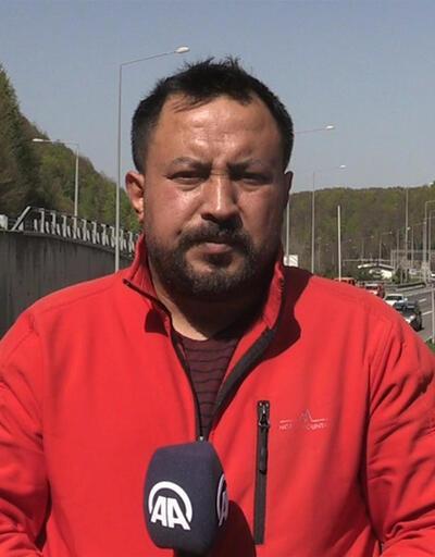 """Bolu Dağı Tüneli'nde """"kaçış"""" trafiği"""