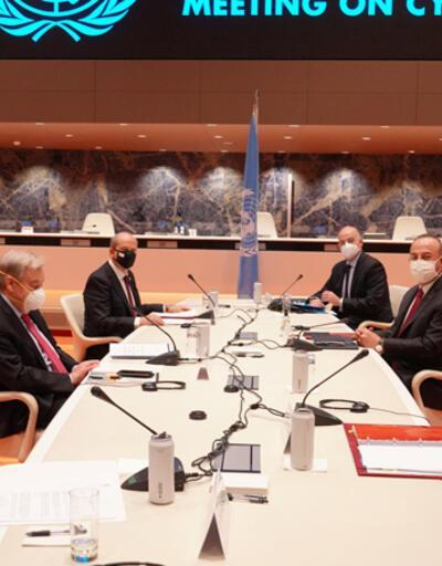 Son dakika... Cenevre'deki Kıbrıs zirvesi hakkında BM'den flaş açıklama