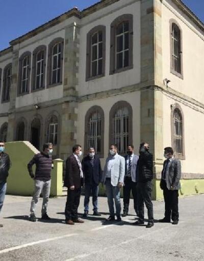 Burhaniye'de tarihi okul binasırestore edilecek