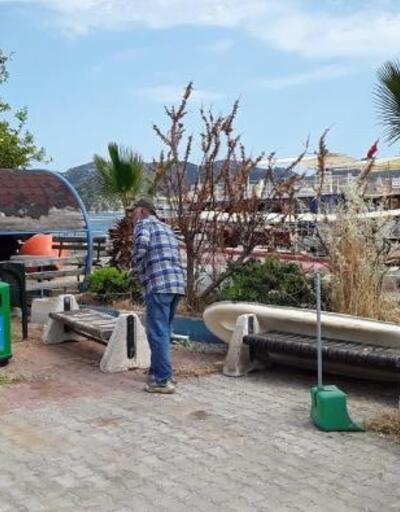 Büyükşehir'den Kekova'da temizlik