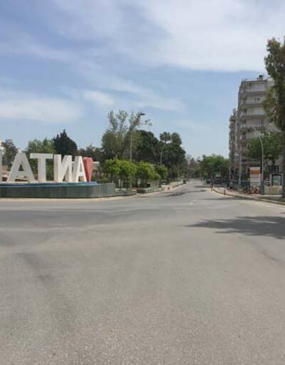 Turizm merkezlerinde tam kapanma sessizliği