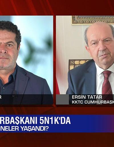 Ersin Tatar özel röportajı, aşılamada son durum, Biden dönemi, İran'da ses kaydı meselesi ve çip krizi 5N1K'da ekrana geldi