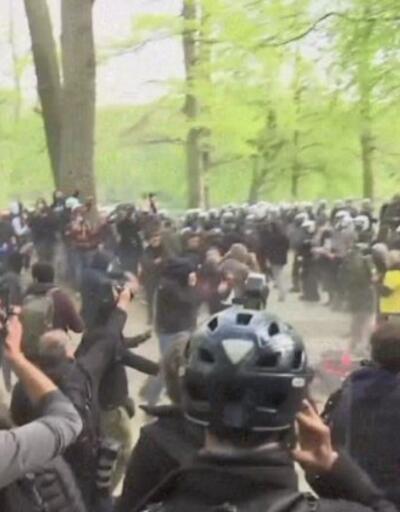 Önlemleri protesto etmek için parti düzenlediler