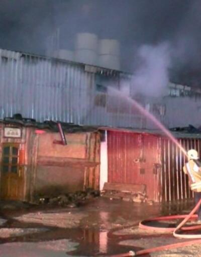 Arnavutköy'deki yangında can kaybı yaşanmadı