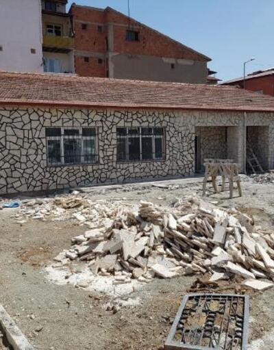Başkan Bekler, yeni aşevi binasında incelemede bulundu