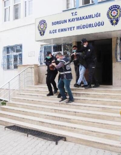 Sorgun'da inşaat malzemesi hırsızlığına 5 gözaltı