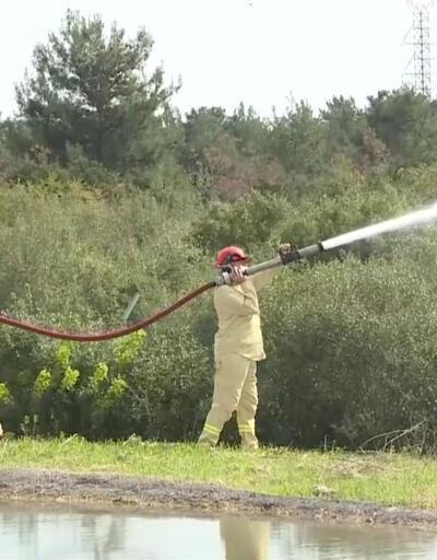 """""""Alev savaşçıları"""" yangına hava gücüyle anında müdahale edecek"""