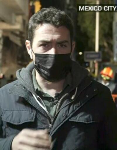 Meksika'da üst geçit çöktü... CNN International muhabiri detayları paylaştı