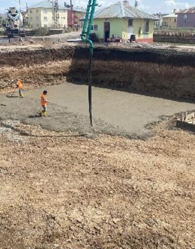 İmranlı'da yeni ilkokul inşa ediliyor