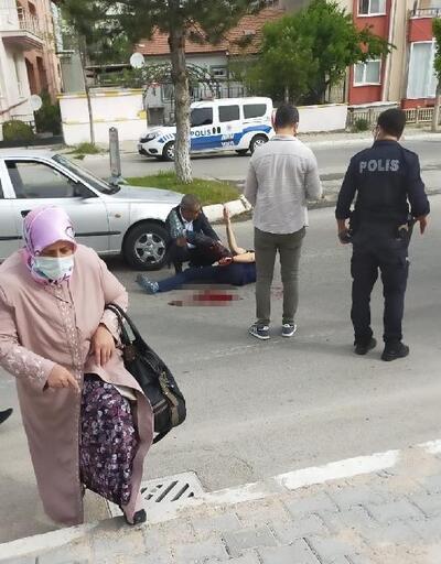 Yol verme yüzünden tartıştığı kişiyi yaraladı