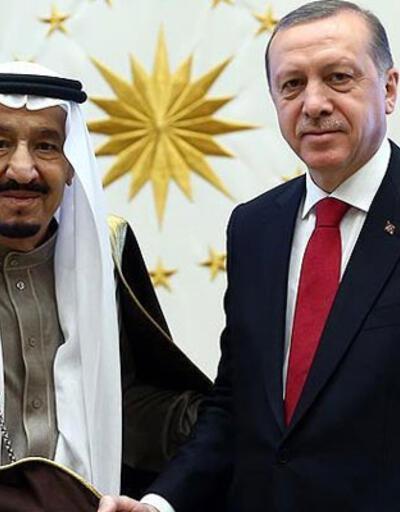 SON DAKİKA HABERİ: Cumhurbaşkanı Erdoğan, Kral Selman ile görüştü