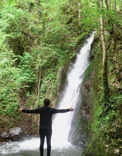 Ormanın içindeki gizli cennet!