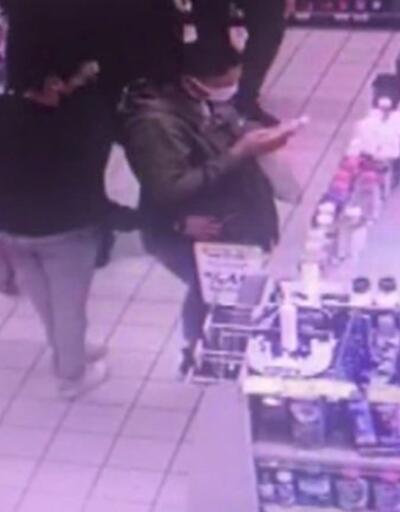 Kaçan gaspçı kovalamacanın ardından yakalandı