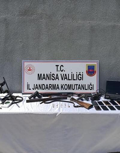Manisa'da 'tarihi eser' operasyonu: 8 gözaltı
