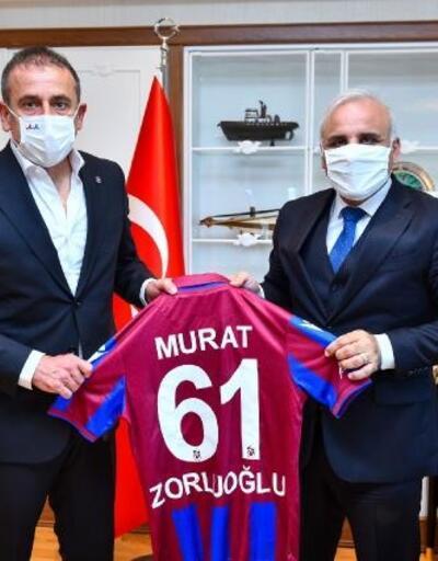 Abdullah Avcı'dan Başkan Zorluoğlu'na ziyaret