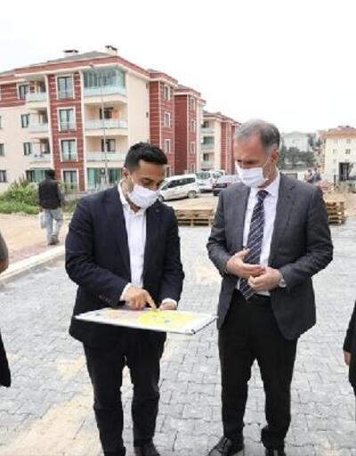 İnegöl'de Yeni Mahalle sokakları yenileniyor