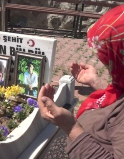 Eren Bülbül'ün annesi için buruk anneler günü