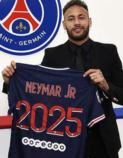 Son dakika... PSG Neymar'ın sözleşmesini 2025'e kadar uzattı