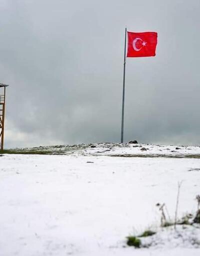 Karadeniz yaylalarında, mayıs ayında kar sürprizi
