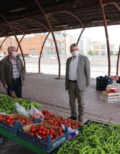 Başkan Çolakbayrakdar'dan pazar yerlerine ziyaret