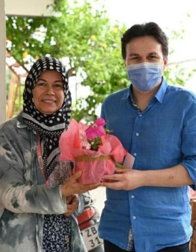 Başkan Kocakaya'dan annelere ziyaret