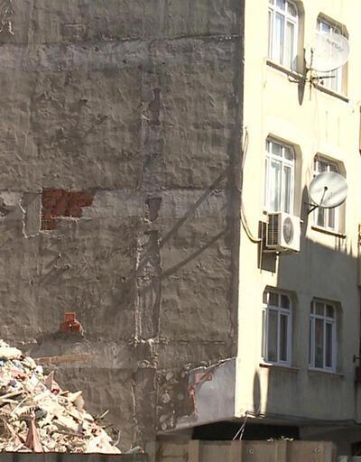 Zeytinburnu'nda 6 katlı bina yıkılacak