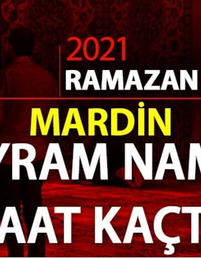 Bayram namazı saatleri... Mardin bayram namazı saat kaçta? Diyanet Mardin bayram namazı saati 2021