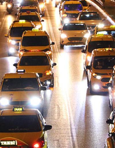 Antalya'da, taksicilerden Filistin'e destek konvoyu
