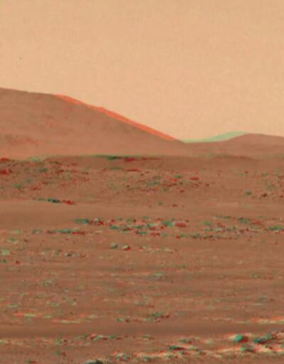 Mars'ın 3D videosu yayınlandı... Gözlükle izlemek gerekiyor