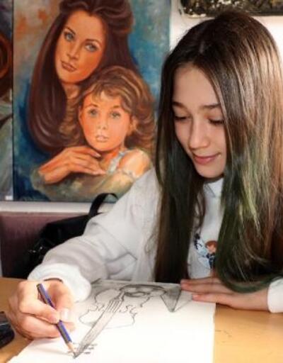 Eğitim aldığı resim atölyesini yaşatmak için başına geçti