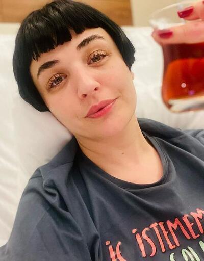 Gonca Vuslateri hastaneden taburcu oldu