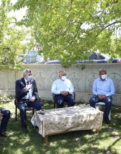 Başkan Büyükkılıç'tan 15 Temmuz şehidinin ailesine bayram ziyareti