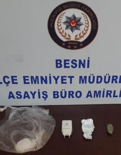Besni'de uyuşturucuya 1 gözaltı