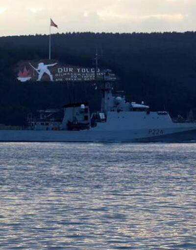 Rus ve İngiliz gemileri Karadeniz'e doğru yol aldı