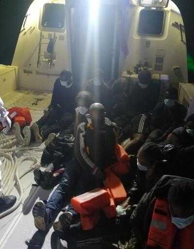 Muğla açıklarında 11 düzensiz göçmen kurtarıldı