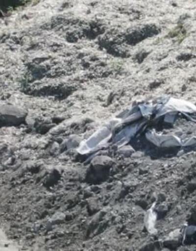Baraj çevresine plastik döktüler