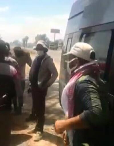 Adana'da 12 kişilik minibüste 27 tarım işçisi
