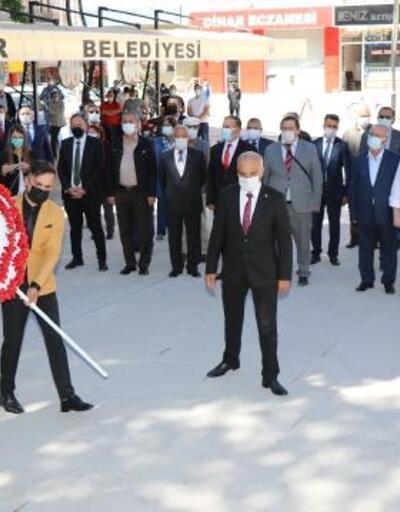 Dinar'da 19 Mayıs töreni yapıldı