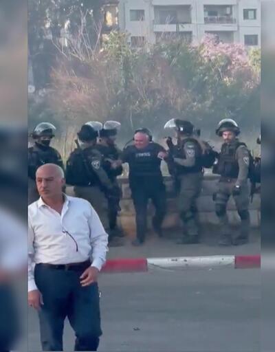 İsrail güçleri CNN muhabirini tartakladı