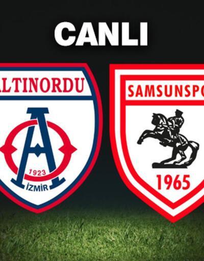Samsunspor Altınordu maçı hangi kanalda, play off rövanş maçı ne zaman, saat kaçta?
