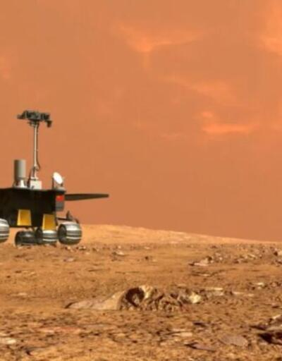 Çin Mars görüntülerini gururla paylaştı