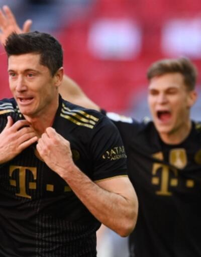 Robert Lewandowski Bundesliga tarihine geçti