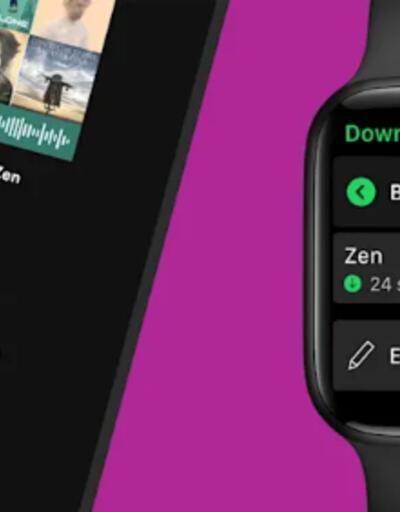 Apple Watch'unuzdaki Spotify nihayet potansiyelini geliştiriyor