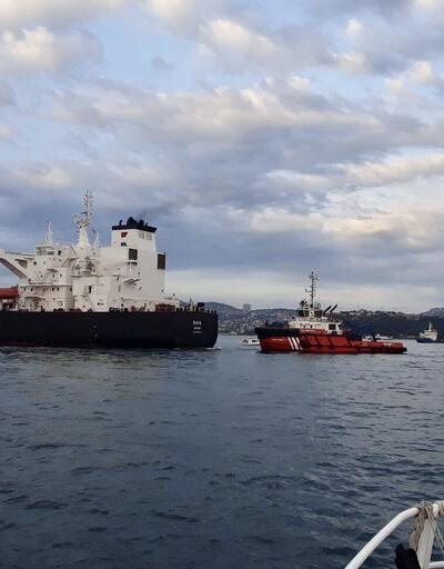Son dakika... Boğaz'da petrol tankeri sürüklendi! Trafik çift yönlü kapatıldı