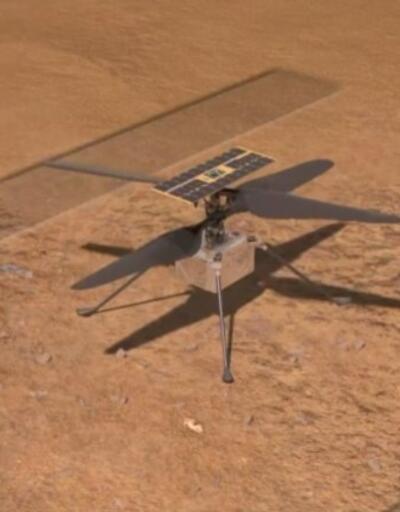 NASA'nın Mars helikopterinde sorun