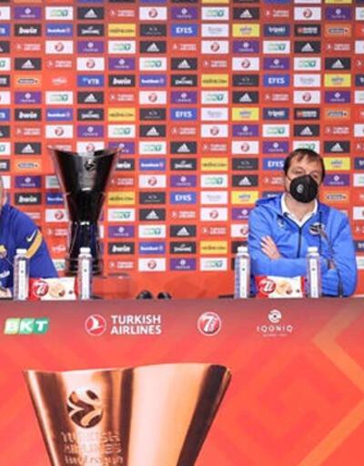 Ergin Ataman: Larkin yarın Avrupa Ligi şampiyonluğunu kazandıran oyuncu olacak