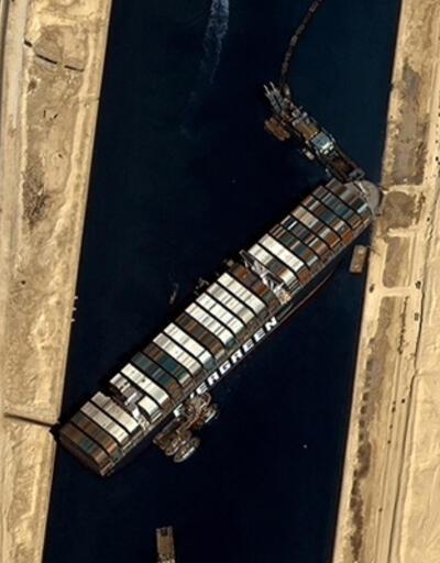 Kaza nedeniyle deniz trafiği durmuştu! Mısır'dan 'The Ever Given' kararı