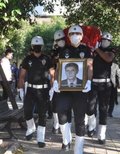 Reyhanlı'da vefat eden gazi polis son yolculuğuna uğurlandı